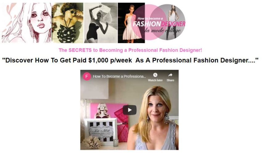 Grow To Be A Famous Fashion Vogue Designer Bloom Ebookstore